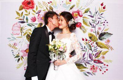 photo booth wedding malaysia